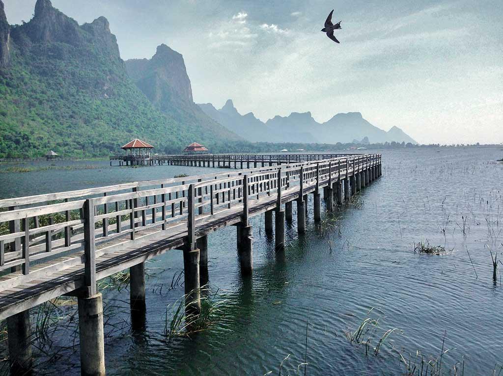 Khoa Sam Roi Yot National Park, Thaïlande