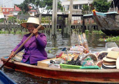 Sur les klongs de Bangkok - Thailande