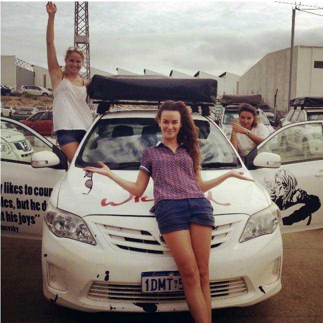 Laure Vuillaume, Australie