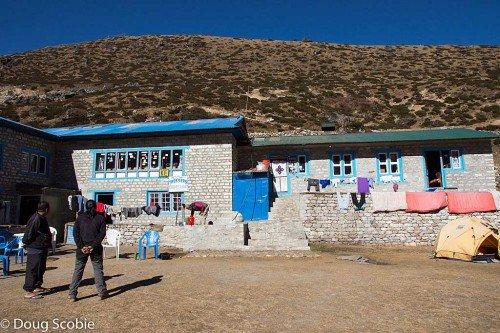 Lodge, Machermo, Népal