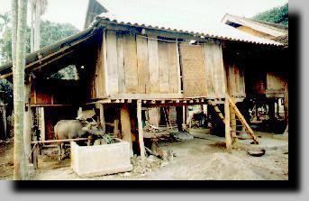Mai Chau, maison sur pilotis - Vietnam