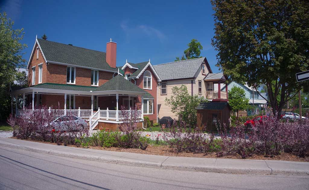 Maisons à Hull, Gatineau - Québec, Canada