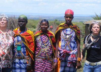 Tribu Massaï - Kenya