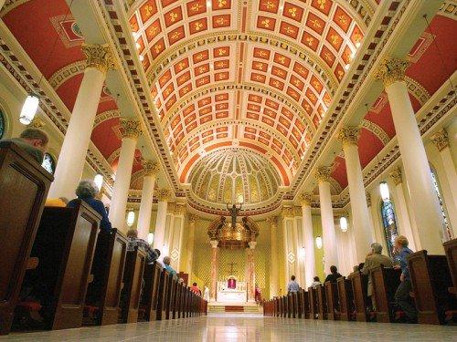 Mobile, Alabama : cathédrale de l'immaculée Conception