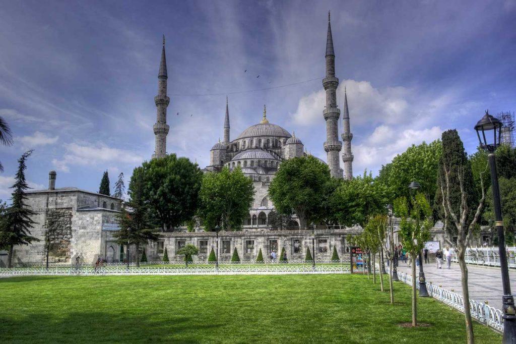 Mosquée bleue ou Sultan Ahmet Camii- Istanbul