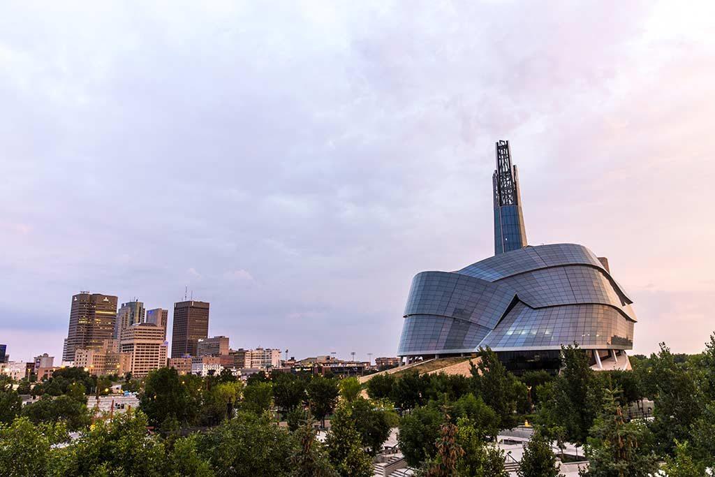 Musée canadien pour les droits de la personne - Winnipeg, Canada