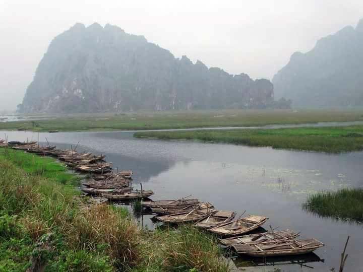 Les berges de Ninh Binh, Vietnam