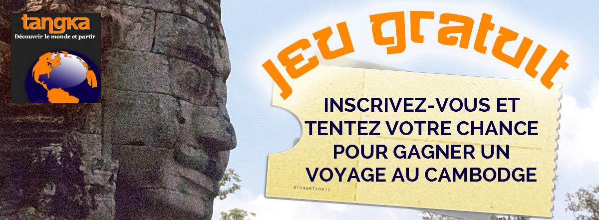 Gagnez un voyage au Cambodge