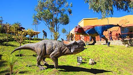 Parc préhistorique de Sucre - Bolivie