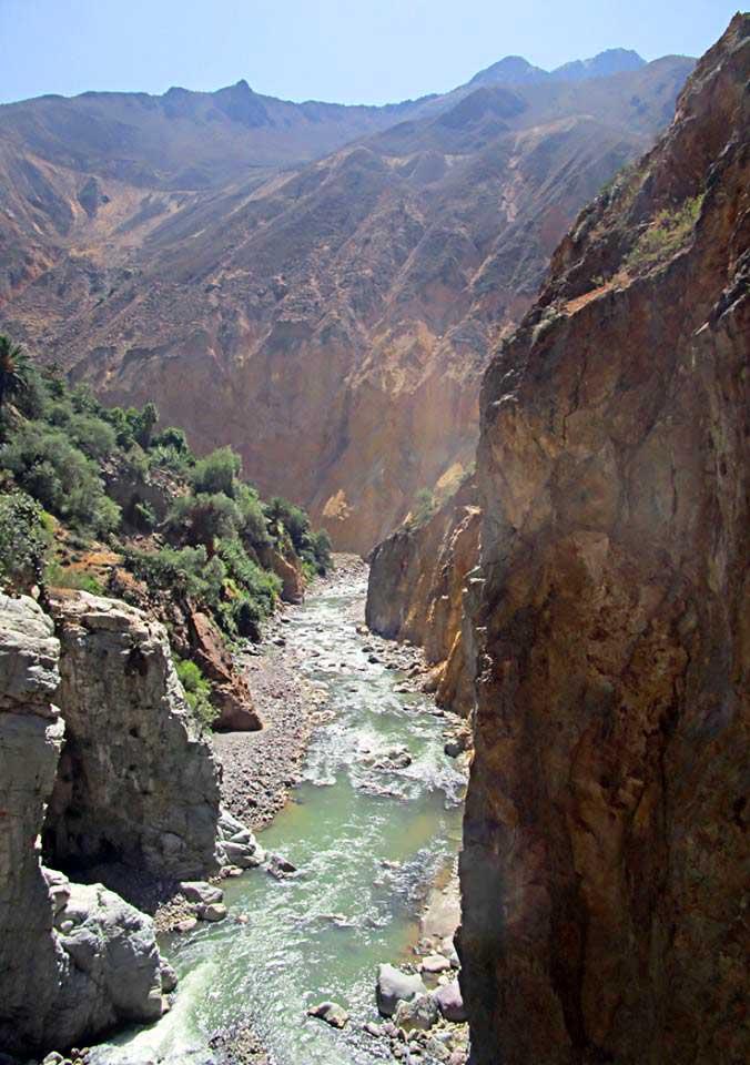 Paysage du Pérou