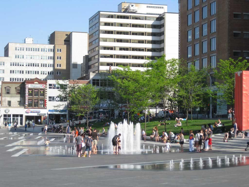 Place des Festivals, Montréal, Canada