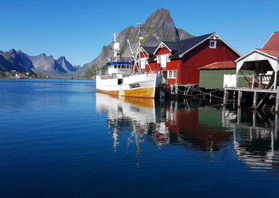 Port de Reine, Iles Lofoten, Norvège