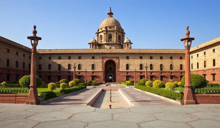 Le Rashtrapati Bhavan - Delhi, Inde