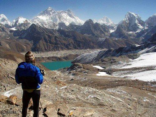 Renjo Pass - Gokyo Ri, Népal