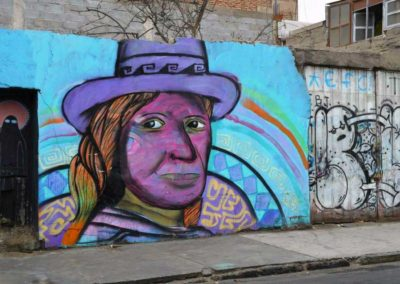 Tag à Arica, Pérou