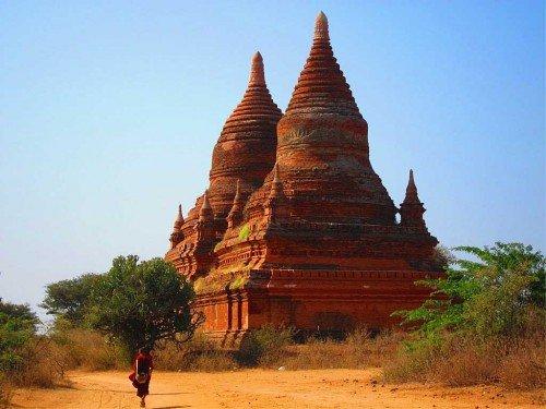 Temple - Bagan, Birmanie