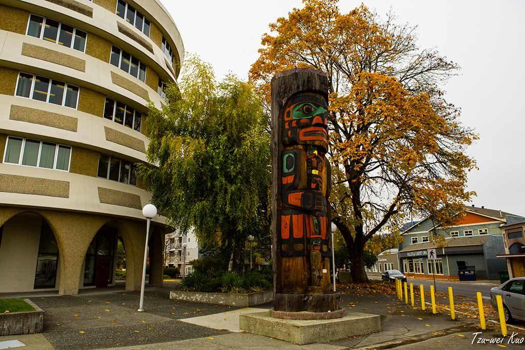 Totem - Duncan, Colombie-Britannique, Canada