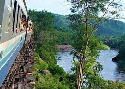 Le train de la rivière Kwai - Thailande