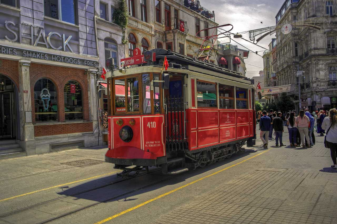 Tramway d'Istanbul, Turquie