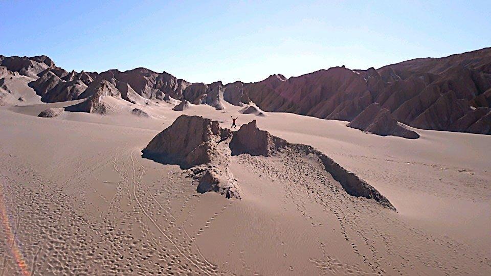 Jump à la Vallée de la Mort, Chili