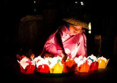 Vendeuse de lanternes - Hoi An, Vietnam