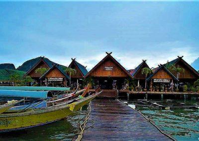 Village flottant de Koh Panyi - Thailande