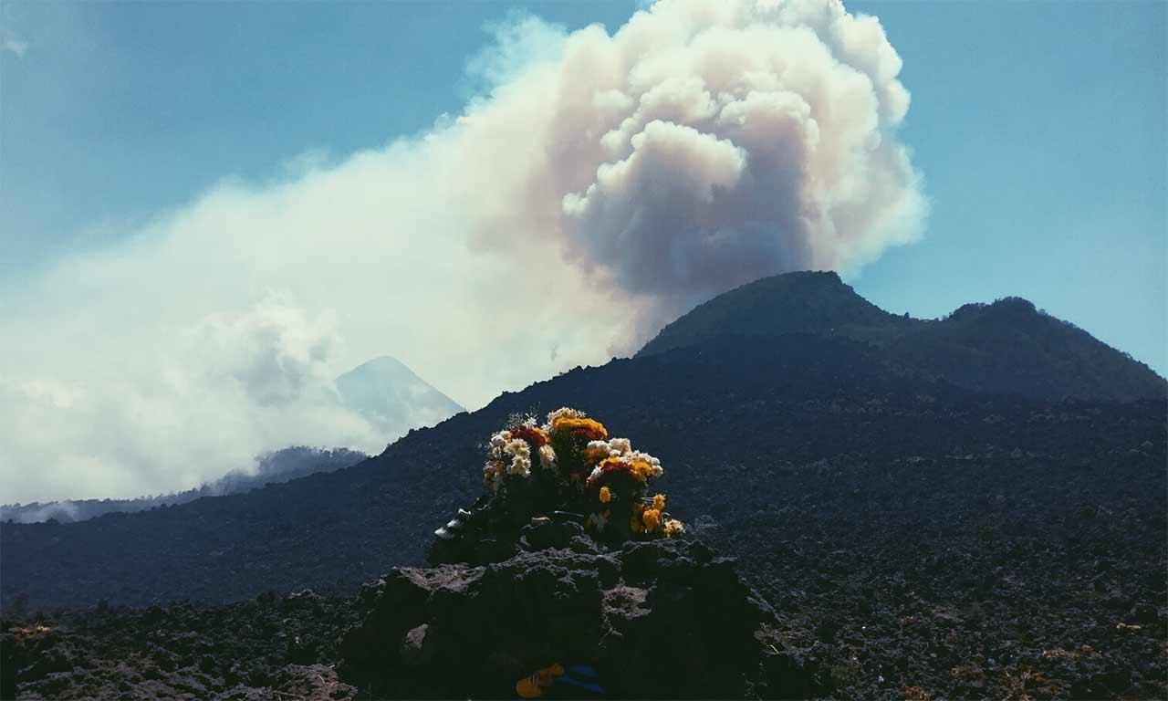 Prières au sommet du volcan – Quetzaltenango – Guatemala