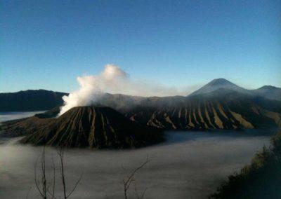 Volcans, Indonésie