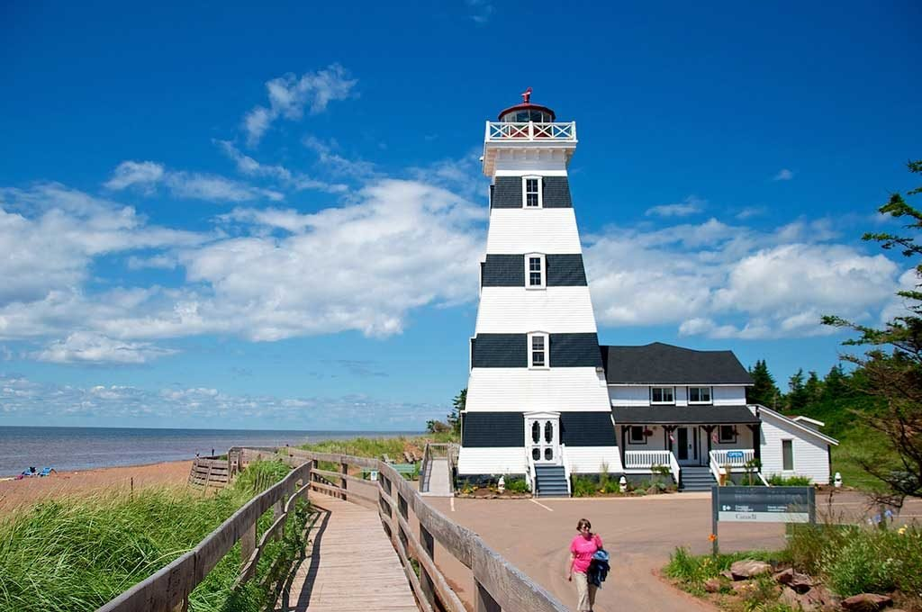 West Point Lighthouse & Inn – Île-du-Prince-Édouard, Canada