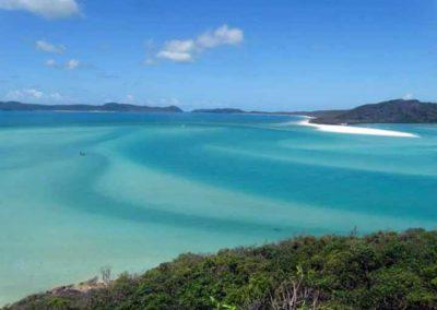 Plage de Whitsunday, Australie