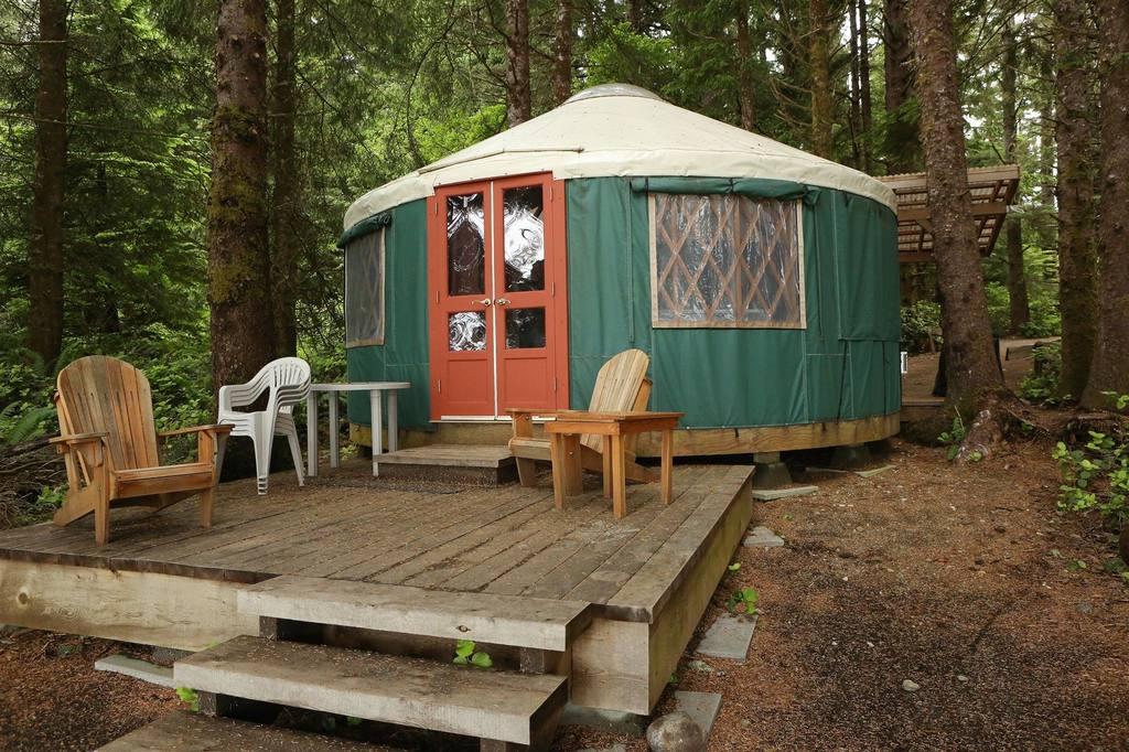 Yourte, Wya Point Resort - Ile de Vancouver, Canada